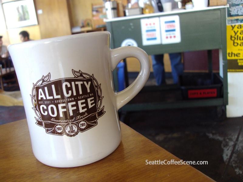 All City Coffee, Coffee in Georgetown, Seattle, Georgetown Seattle